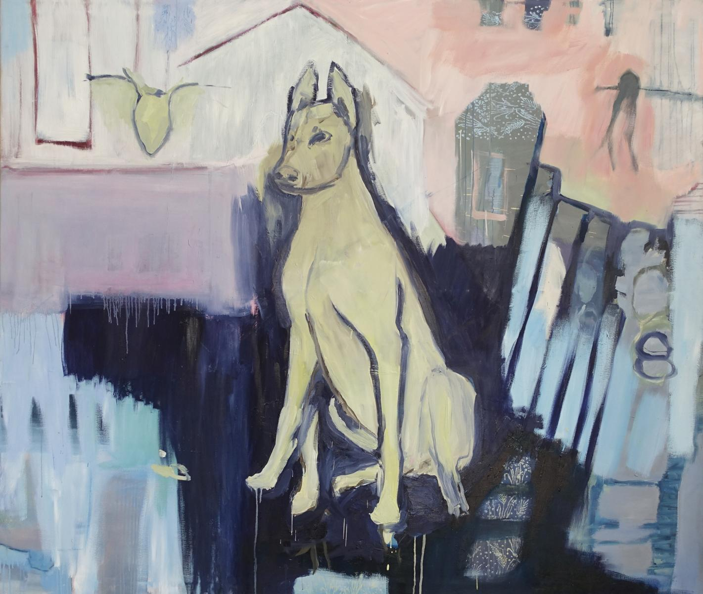 He takes care 2015 Heinecle 170x200cm