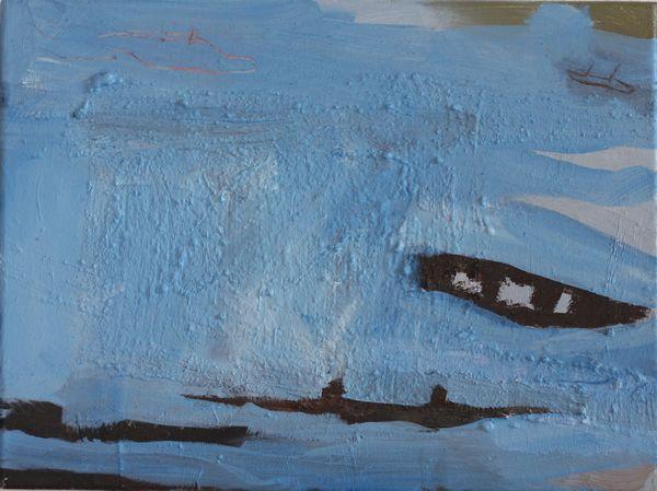 2013, 30 x 40 cm Öl / Leinwand