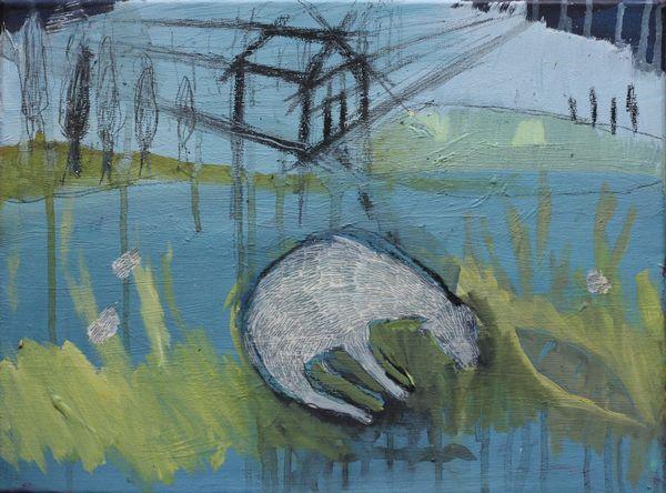 Treuer Freund, 2013 30 x 40 cm, Öl / Leinwand